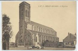 Bray-Dunes-L'Église (Très Léger Manque Bas à Droite,voir Scan)-(SÉPIA) - Bray-Dunes