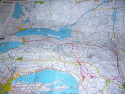 CB3 Plan De New-York De L' AAA American Automobile Association Anciennes Pub - Cartes Routières