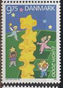 Denmark,  2000,  Europe,  Europa Stars, 1 Stamp - 2000