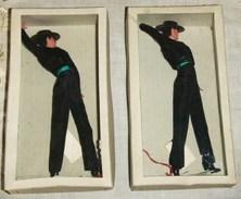 2 MUÑECOS DEL BAILAOR ANTOÑETE  FLAMENCO DANCER DOLL - Otras Colecciones