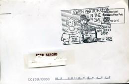 13522 U.s.a. Special Postmark  2000 Jewish Participation In The U.s. Civil War - Jewish