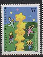 Austria,  2000,  Europe,  Europa Stars, 1 Stamp - 2000
