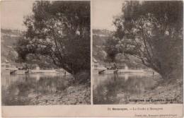CARTE STEREO   Excursion En Franche Comté Besançon Le Doubs A Mazagran - Besancon