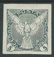 1920 CECOSLOVACCHIA FRANCOBOLLI PER GIORNALI 5 H MH * - CZ7 - Newspaper Stamps