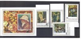 KUR81  ALBANIEN 1991  MICHL  2497/98 Gestempelte VIERERBÖCKE SIEHE ABBILDUNG - Albanien