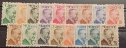 Turkey, 1956, Mi: 1492/08 (MNH) - 1921-... República
