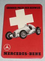 Rare Magnet Décor Affiche Publicitaire Ancienne MERCEDES BENZ Grosser Preis Der Schweiz, Suisse , Automobilia - Magnets