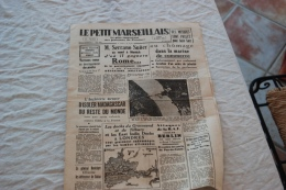 LE PETIT MARSEILLAIS DU 30/09/1940 - Zeitungen