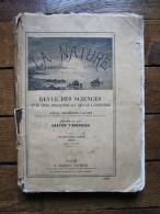 "1890, ""LA NATURE"", RELIURE 1ER SEMESTRE,SCIENCES ART INDUSTRIE,PADIRAC,SAUMON,NIGER,BRESIL,ELEPHANT,MARJELEN,MILITARIA,T - Libros, Revistas, Cómics"