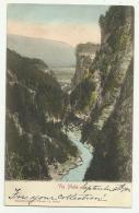 VIA MALA ANNO 1900   VIAGGIATA FP - GR Grisons