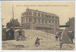 Bray-Dunes-Modern-Hôtel Et Descente De Plage-(SÉPIA) - Bray-Dunes