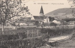 Ceyzériat - L'Eglise Et La Roche - Frankrijk