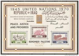 IRAK 1970 - Yvert #H19 - - MNH ** Puntos De óxido En La Goma - Irak