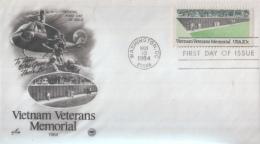 Vietnam Veterans Memorial - Timbres