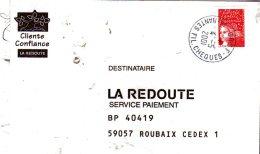 44  NANTES  C R S F (centre Régional Des Services Financier) Fil Chèques  4/05/01 - Poststempel (Briefe)