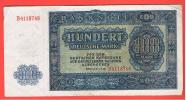ALEMANIA - GERMANY - 100  Deutschemark 1948 MBC+   P-15 - [ 6] 1949-1990 : GDR - German Dem. Rep.