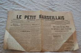 Le Petit Marseillais Du 9/12/1914 - Zeitungen