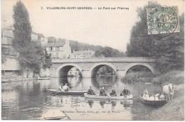 VILLENEUVE SAINT GEORGES - Le Pont Sur L'Yerres - Villeneuve Saint Georges