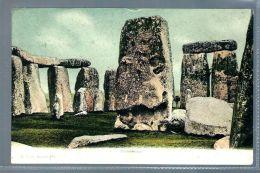Historical Postcard Stonehenge (L665) - Angleterre