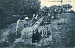 N°143 J -cpa Asnelles -le Lavoir- - Autres Communes