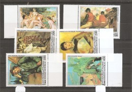 Peintures -Gauguin ( Série Complète De 6 Timbres XXX -MNh- De Somali Républic) - Arts