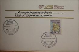Angola - 5ª Feira Internacional De Luanda 1973 - Inauguração - Associação Industrial De Angola - Angola
