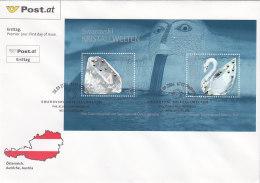 Österreich 2004 Nr. Block 25 - Glaskunst Swarowski - FDC Ersttagsbrief - FDC