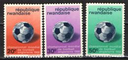 RUANDA - 1966 - CAMPIONATO MONDIALE DI CALCIO IN INGHILTERRA - NUOVI MNH - Rwanda