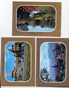 Lotto 6 Cartoline Torino Turin Editore Graf Art FG NV Colori Valentino Stupinigi Mole Antonelliana Monte Cappuccini - Collections & Lots