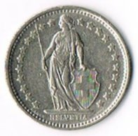 Switzerland 1974B ½ Franc - Switzerland