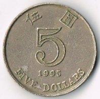 Hong Kong 1995 $5 - Hong Kong