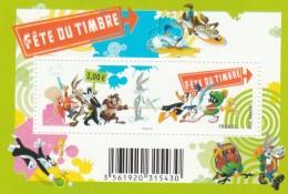 FRANCE 2009 BLOC FETE DU TIMBRE LOONEY TUNES NEUF F4341 F 4341                               TDA141 - Blocs & Feuillets