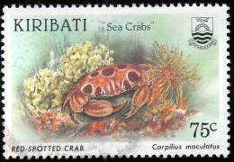 KIRIBATI - Scott #684 Carpilius Maculatus (*) / Used Stamp - Kiribati (1979-...)
