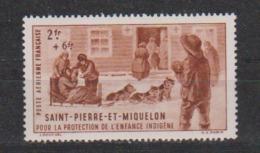 SAINT PIERRE ET MIQUELON       N°  PA 2  NEUF SANS  CHARNIERE         (02/16) - Luchtpost