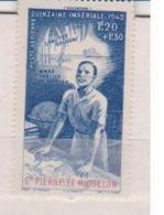 SAINT PIERRE ET MIQUELON       N°  PA   3   NEUF SANS  CHARNIERE         (02/16) - Luchtpost