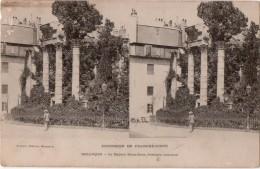 CARTE STEREO   Excursion En Franche Comté  Besançon Le Square Saint Jean ( Vestiges Romains ) - Besancon