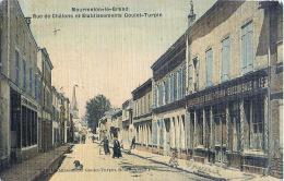 51 MOURMELONT LE GRAND RUE DE CHALONS ET ETABLISSEMENTS GOULET TURPIN ATELIERS  COMMERCES - Mourmelon Le Grand