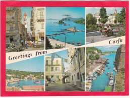 Multi Post Card Of Corfu,Greece,Posted With Stamp,D4. - Grecia