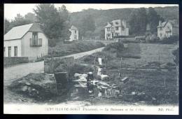 Cpa  Du 29  Saint Jean Du Doigt -- Le Ruisseau Et Les Villas     JIP3 - Saint-Jean-du-Doigt