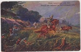 Kampf Mit Italienischer Kavalleriepatrouille  -Alte Ansichtkarten 1916 - Andere Kriege