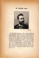 1897 - Iconographie Documentaire - FLÉGIER Ange (Marseille 1846 - Martigues 1927) -  FRANCO DE PORT - Vieux Papiers