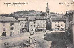 """¤¤  -   5434   -  ROSIERES    -  La Place Jeanned'Arc  -  Hôtel Du Midi  -  Tailleur """" Vidal """"  -   ¤¤ - France"""
