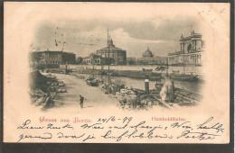 Berlin. Humboldthafen. Hafensicht Und Dampfer - Allemagne
