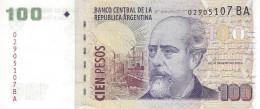 ARGENTINA 100 PESOS ND (2013) P-357e UNC SERIES BA, SIGN: PONT &  BOUDOU [ AR357e5 ] - Argentinië