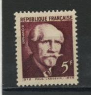 FRANCE -  LANGEVIN - N° Yvert  820** - Unused Stamps