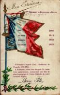 MON ETENDARD..7eme REGIMENT DE CHASSEURS A CHEVAL.. ..CPA - Patriotic