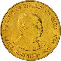 Kenya, 10 Cents, 1987, British Royal Mint, FDC, Nickel-brass, KM:18 - Kenya