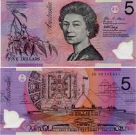 AUSTRALIA       5 Dollars       P-57f       (20)08       UNC - Decimal Government Issues 1966-...