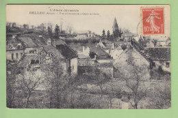 BELLEU : Vue D'Ensemble. L'Aisne Dévastée. 2 Scans. Edition L D - France