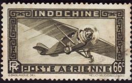 INDOCHINE   1933-38  -   PA  10  - Oblitéré - Poste Aérienne